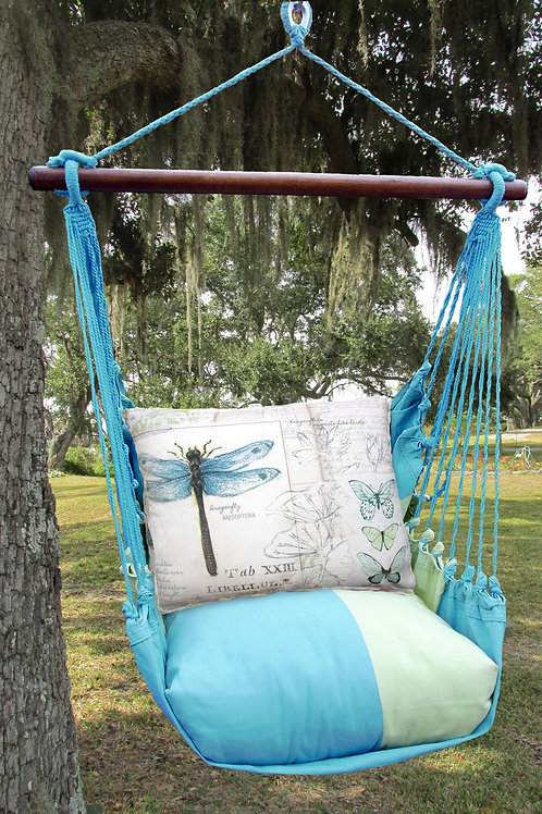 MM Swing Set w/ Dragonfly Pillow, MMSW703-SP