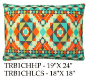 Tribal Pillow, TRB1CH, 2 sizes