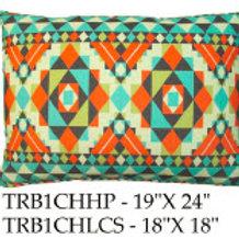 Tribal Pillow, TRB1CH, 2 sizes