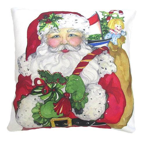 Santa w/ Toys, SR604LCS, 18x18