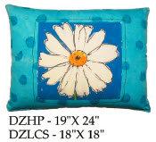 Daisy Pillow, DZ, 2 sizes