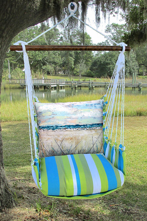 Beach Landscape 2 Swing Set,  BBLS202-SP