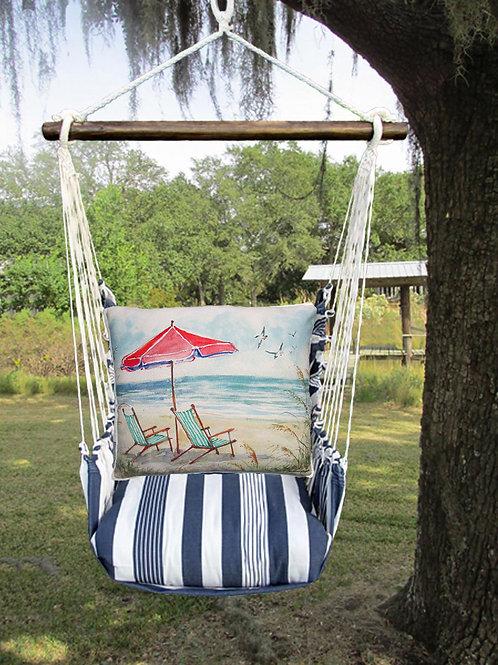 Umbrella and Beach Chairs Swing Set, MASW207-SP