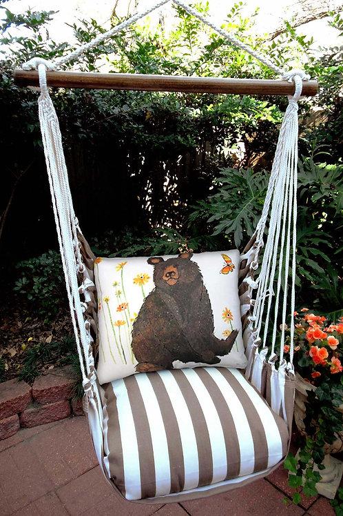 SC Swing Set w/ Bear Pillow, SCRR506-SP