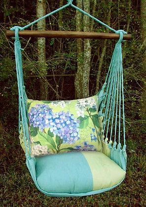 MM Swing Set w/ Hydrangea Pillow, MMSR501-SP