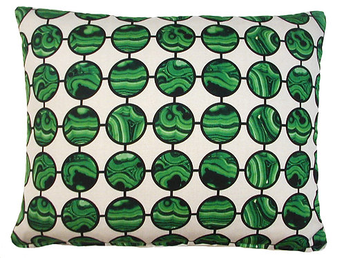 Malachite Pillow, MGLHP, 19x24