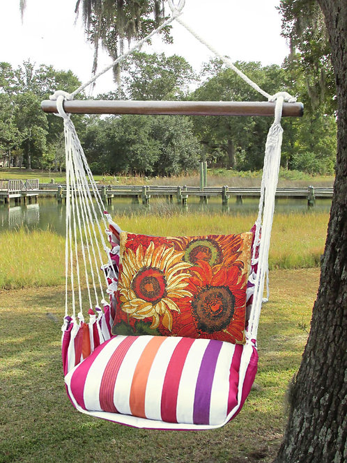 CR Swing Set w/ Sunflowers, CRTC701-SP