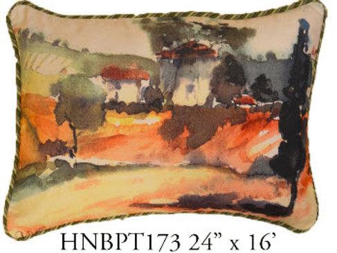 Landscape Pillow, 24x16, HNBPT173