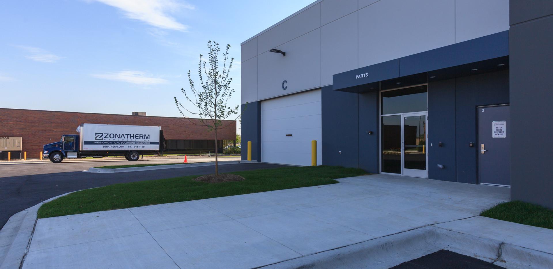 Parts Department Entrance
