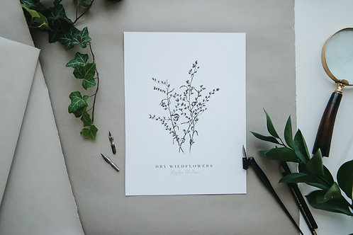 Wildflower Fine Art Giclee Print