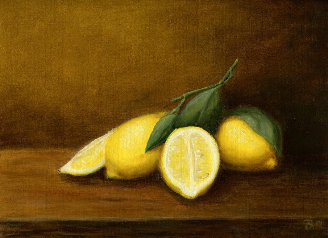 """""""Lemons still-life"""""""