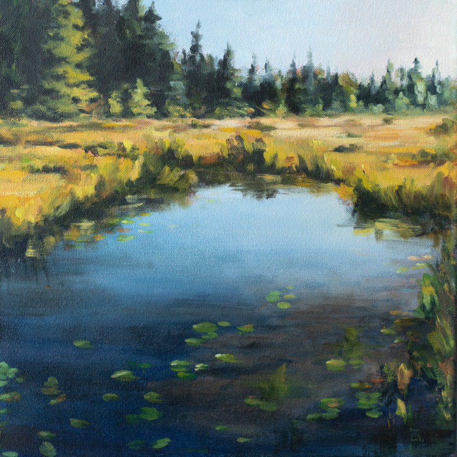 """""""Evening by the Pond"""""""
