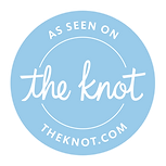 the knot logo wedding wire