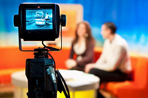 Video camera viewfinder - recording show