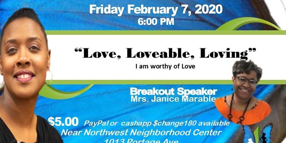 February Event ~ speaker Janice Marable