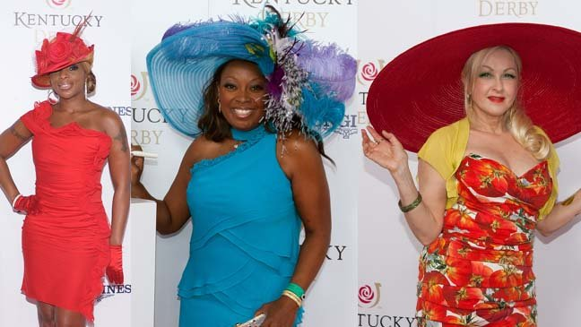 kentucky-derby-maryjblige-star-jones-cyndi-lauper