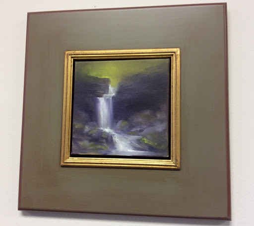 """Linda Eastman, """"Waterfall in the Forest"""""""