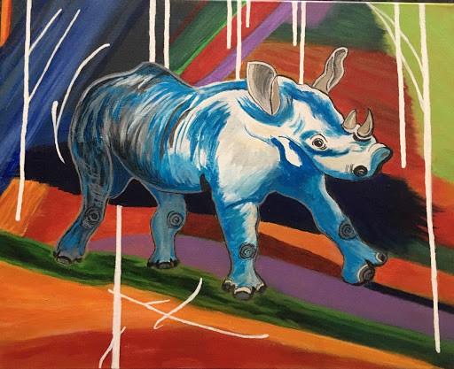"""""""Rhino"""" Barbara Cox"""