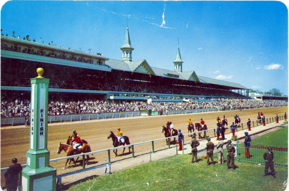1957-kentuckyderby-postcard2