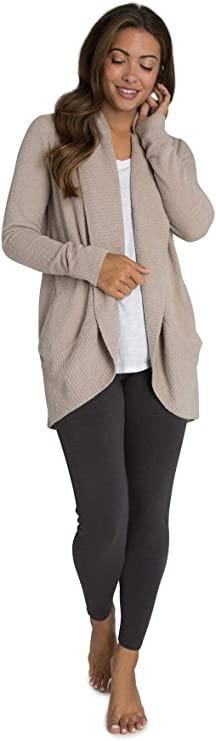 women cardigan, women taupe cardigan, women taupe cardigan, cozy chic cardigan