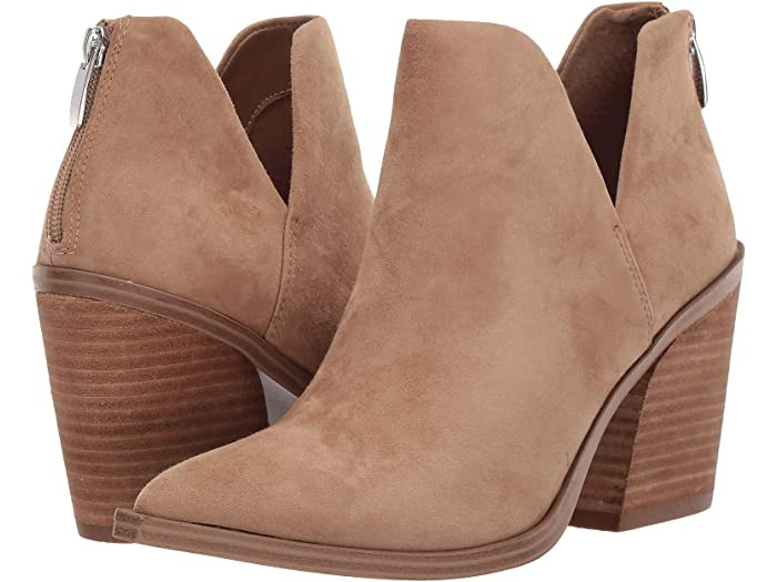 ankle boot, heeled ankle boot, steve madden ankle boot, taupe ankle bootie