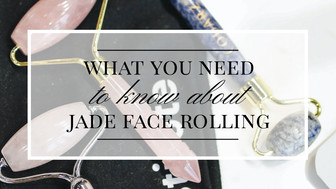 Jade Face Rollers - What Do They Really Do?