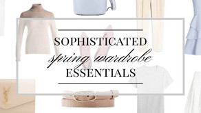 Sophisticated Spring 2021 Wardrobe Essentials