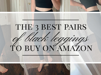I Tried Top-Rated Amazon Leggings: Here's What To Buy