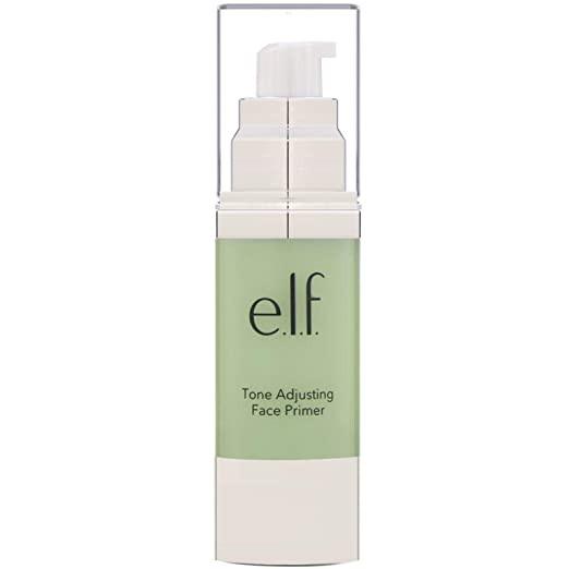 green face primer, green makeup primer, green primer, face primer, elf face primer, green elf face primer