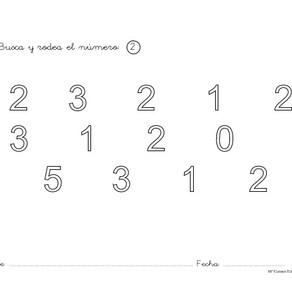 Matemáticas -grafomotricidad.
