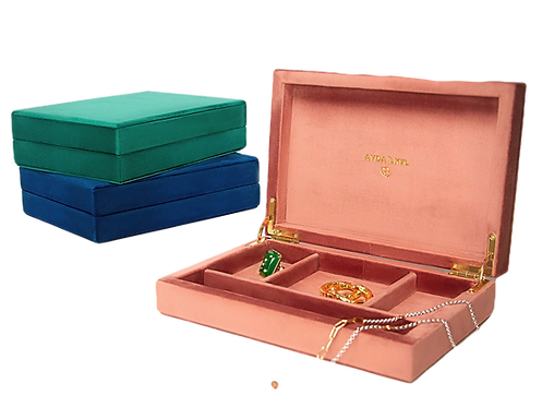 Personalized Jewelry Box by Padme Designs