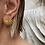 Thumbnail: Kalkan Gold Earrings by MTOY