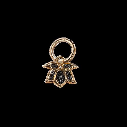 Lotus Charm Earring by Padme Designs