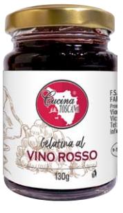 Gelatina al Vino Rosso 130g