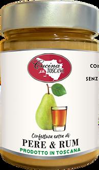 Confettura Extra di Pere e Rum 320g