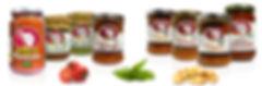 sughi pronti, salse, patè spalmabili, prodotti vegani e biologici,