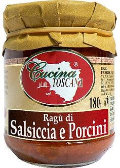 Ragù di Salsiccia e Porcini 180g