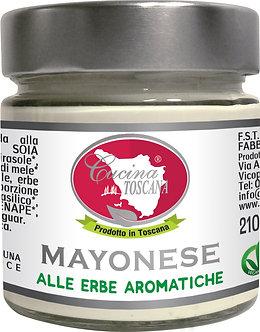 Maionese Bio alle Erbe Aromatiche - senza uova