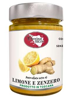 Marmellata di Limone e Zenzero 320g