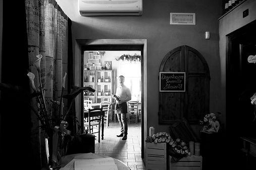 Lo scopiccio ristorante, sala interna, fabrizio, gente dello scopiccio