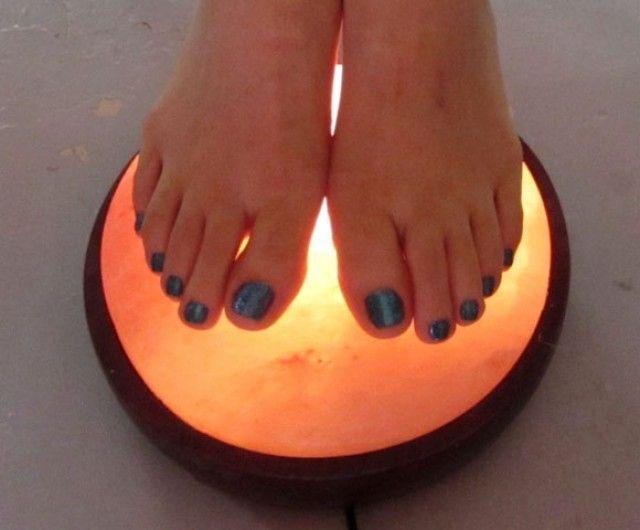 Salt foot detox