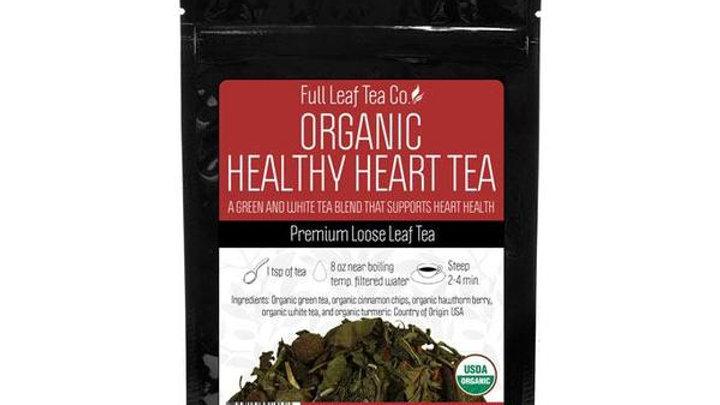 Organic Healthy Heart Tea from THE FULL LEAF TEA CO.
