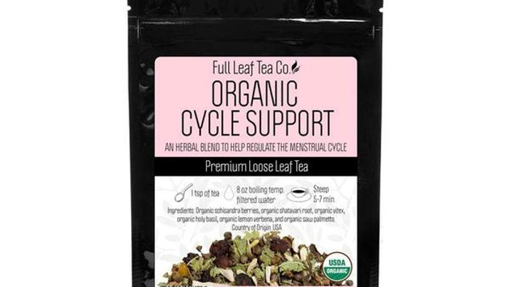 Organic Cycle Support Tea from THE FULL LEAF TEA CO.