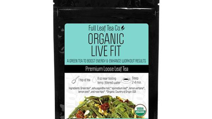 Organic Live Fit Tea from The Full tea Company