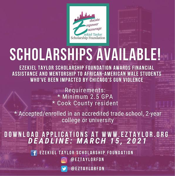 EZTaylor Scholarship 2021 application.jp