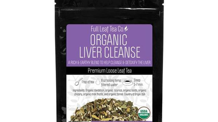 Organic Liver Cleanse Tea from THE FULL LEAF TEA CO.