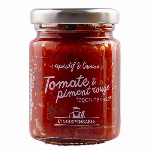 Tomate et piment rouge