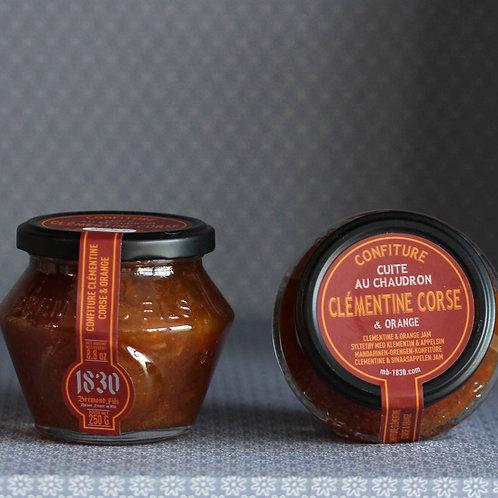 Confiture à la clémentine Corse & orange