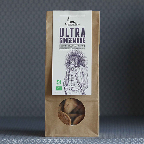 Biscuit Ultra Gingembre