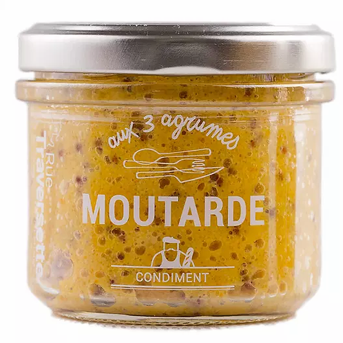 Moutarde - 3 agrumes